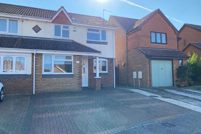 Thumbnail Semi-detached house to rent in Nidderdale, Carlton Colville, Lowestoft