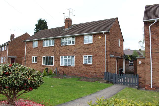 Thumbnail Flat to rent in Renton Road, Wolverhampton