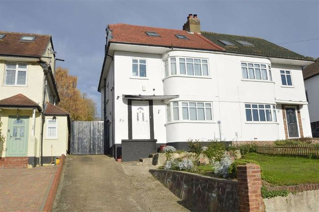 Thumbnail Semi-detached house for sale in Mead Way, Coulsdon, Surrey