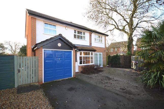 Thumbnail Detached house for sale in Chittering Close, Lower Earley, Reading