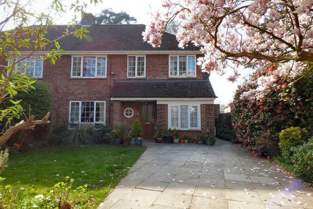 Thumbnail Semi-detached house for sale in Pierrefondes Avenue, Farnborough
