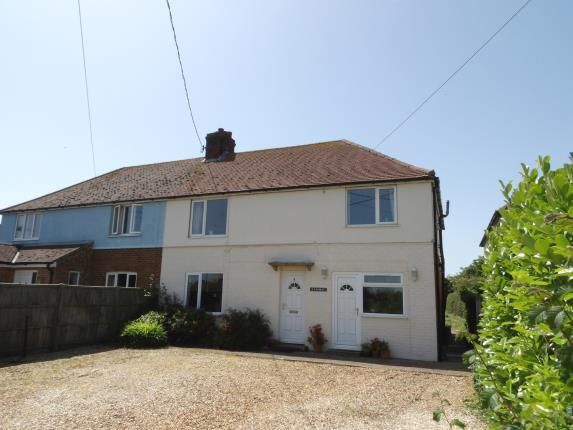 Thumbnail Semi-detached house for sale in Thornham, Hunstanton, Norfolk