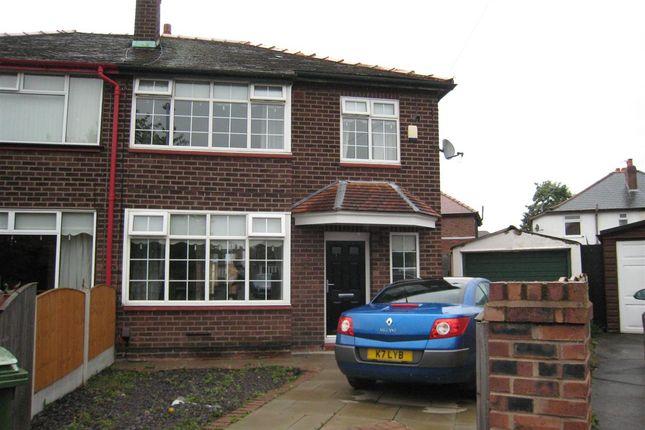 Thumbnail Semi-detached house for sale in Sylvia Crescent, Warrington