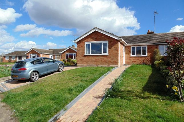 Thumbnail Semi-detached bungalow for sale in Queen Street, Bozeat, Wellingborough