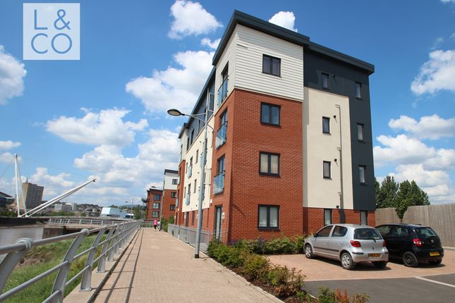 Thumbnail Flat to rent in Devonia House, Rodney Road, Newport