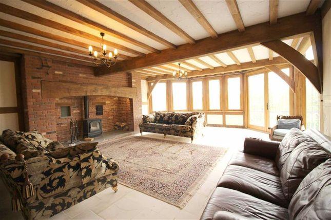 Lounge of Collfryn, Trefnanney, Meifod, Powys SY22