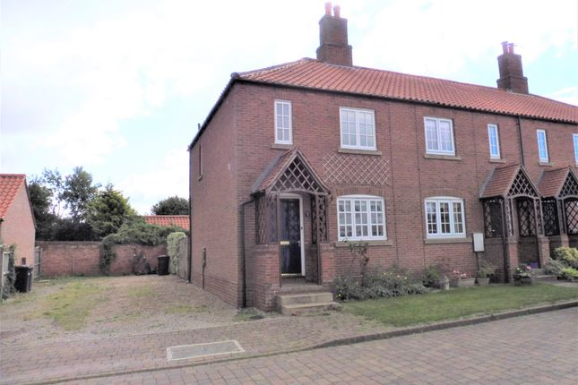 2 bed end terrace house to rent in Manor Chase, Long Marston, York YO26