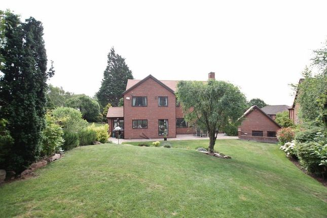 Exterior of Oldfield Gardens, Lower Heswall, Wirral CH60