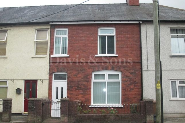 Thumbnail Terraced house for sale in Gladstone Street, Cross Keys, Newport.