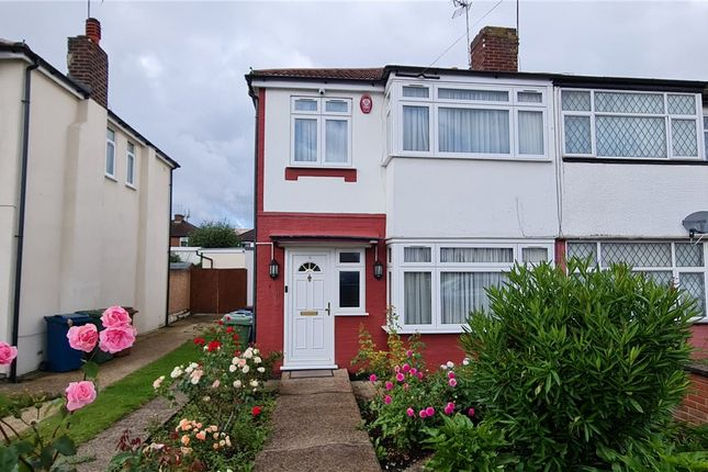 Thumbnail Semi-detached house to rent in Aldridge Avenue, Stanmore