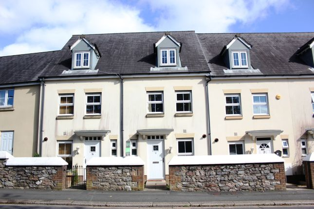 Thumbnail Town house for sale in Recreation Road, Beacon Park, Plymouth