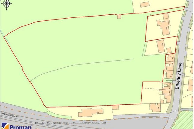 Thumbnail Land for sale in Land At, Etherley Lane, Bishop Auckland, County Durham