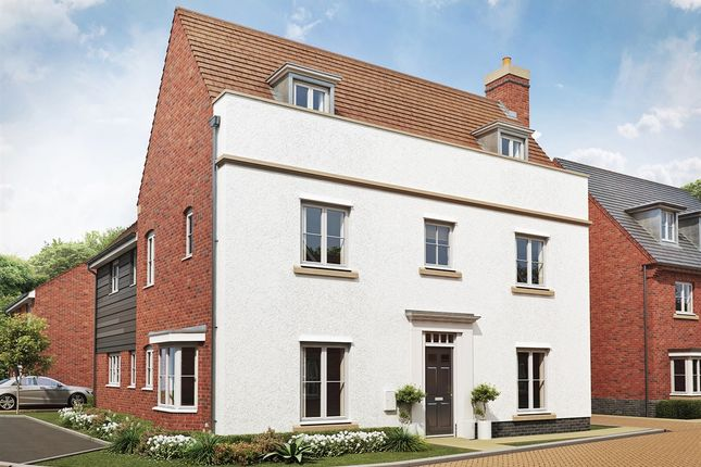 "Thumbnail 5 bedroom detached house for sale in ""The Jubilee "" at Folly Lane, Hockley"