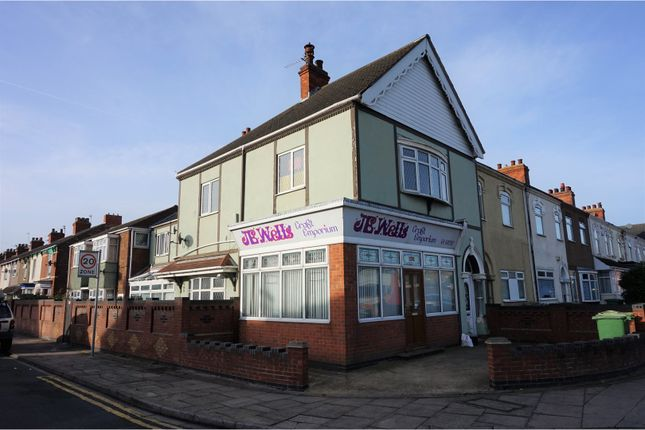 Thumbnail End terrace house for sale in Grimsby Road, Cleethorpes