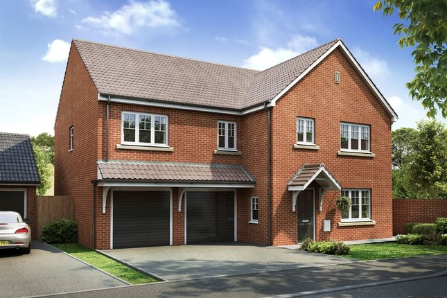 "Thumbnail Detached house for sale in ""The Compton"" at Rectory Lane, Standish, Wigan"