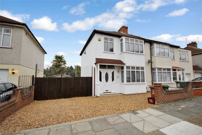 Thumbnail Semi-detached house for sale in Roseacre Road, South Welling, Kent