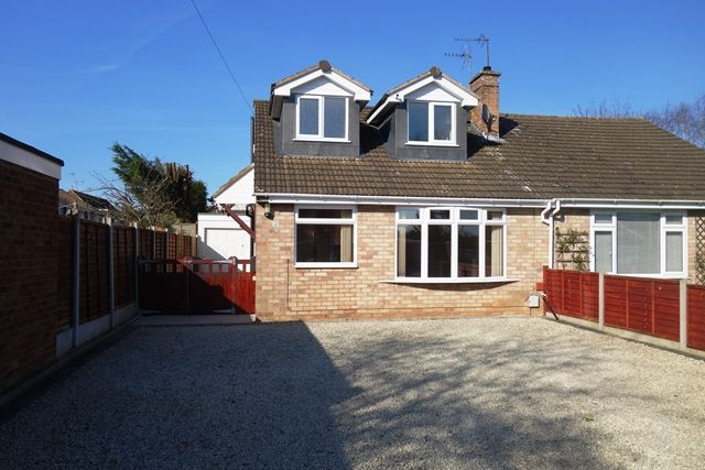 Thumbnail Bungalow to rent in Keats Close, Enderby, Leicester