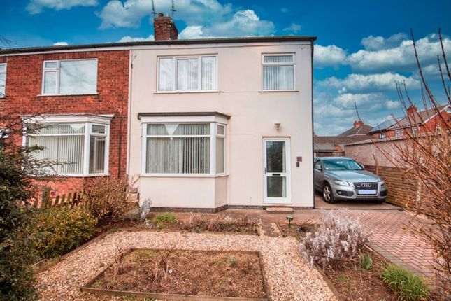 Semi-detached house for sale in Kathleen Avenue, Scunthorpe
