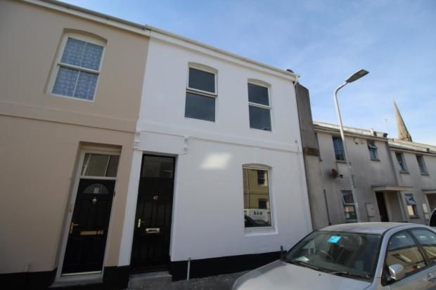 Thumbnail Flat to rent in Francis Street, Plymouth