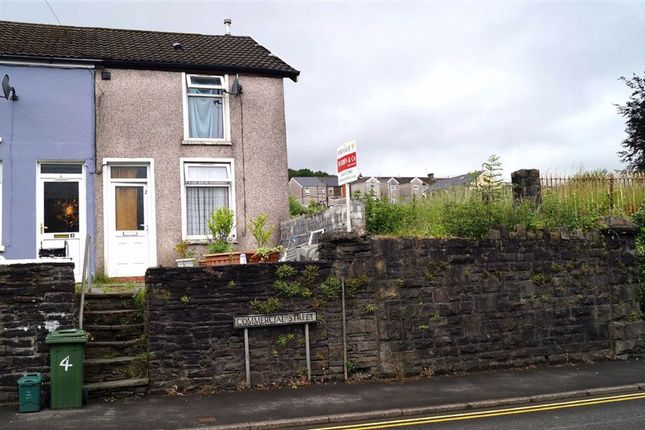 Thumbnail End terrace house for sale in Commercial Street, Mountain Ash