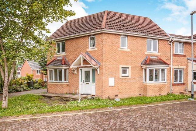 Thumbnail End terrace house for sale in Manor Park Road, Cleckheaton, West Yorkshire