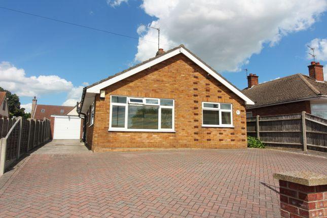Thumbnail Detached bungalow for sale in Long Lane, Bradwell