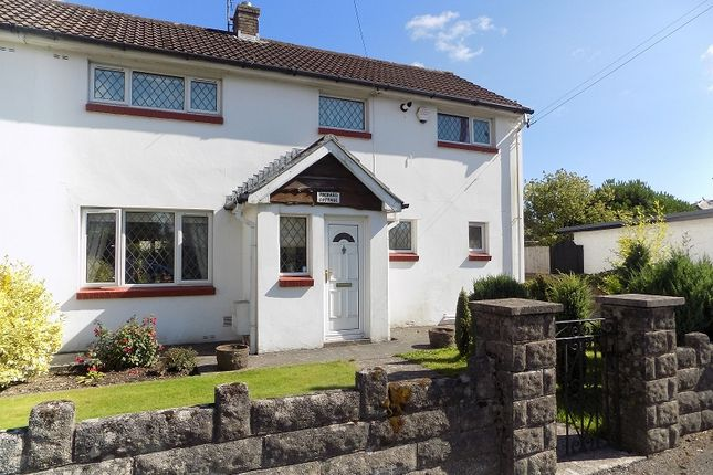 Thumbnail Semi-detached house for sale in Orchard Cottage Main Road, Coychurch, Bridgend.