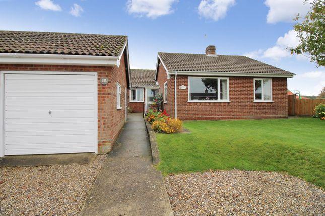 Thumbnail Detached bungalow for sale in Cargate Lane, Upton, Norwich