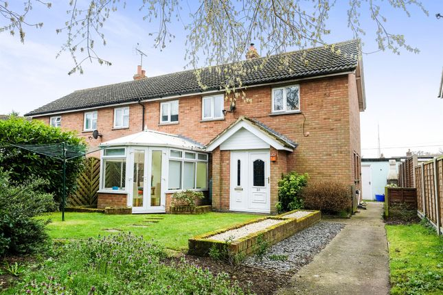 Thumbnail Semi-detached house for sale in Parklands, Ufford, Woodbridge