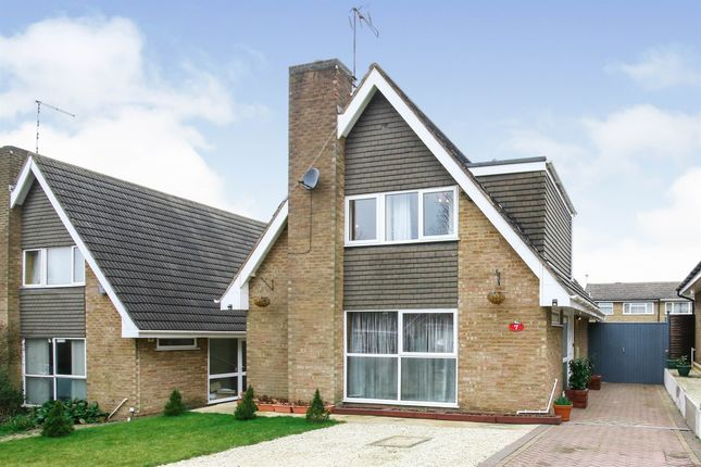 Thumbnail Detached house for sale in Hawlands, Brownsover, Rugby