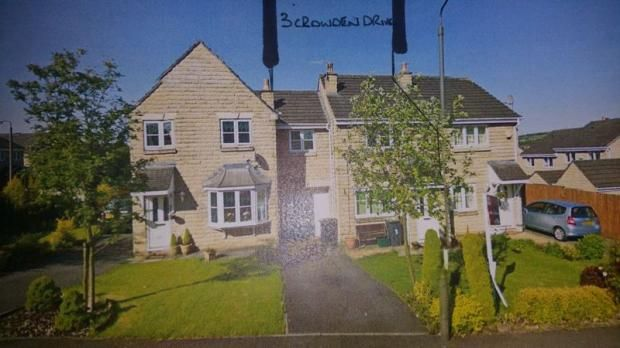 Thumbnail Terraced house to rent in Crowden Drive, Hadfield, Glossop, Derbyshire