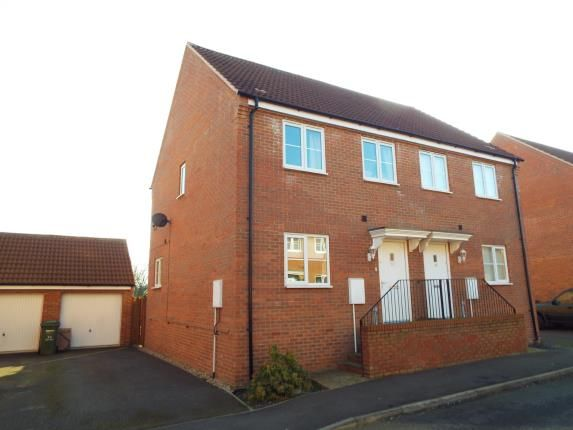3 bed semi-detached house for sale in Gaywood, King's Lynn, Norfolk