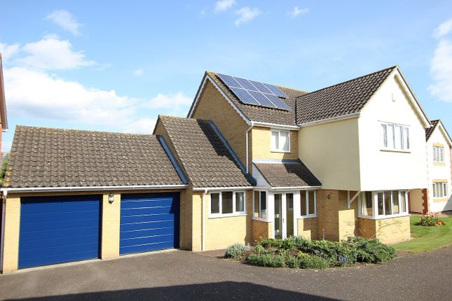 Thumbnail Detached house for sale in Gippingstone Road, Bramford, Ipswich, Suffolk