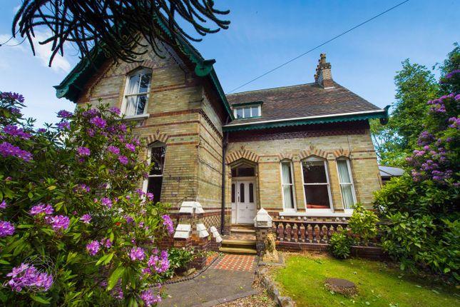 Thumbnail Detached house for sale in Lady Lane, Croft, Warrington