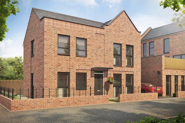 "Thumbnail Semi-detached house for sale in ""Dutton"" at Speke Hall Avenue, Speke, Liverpool"