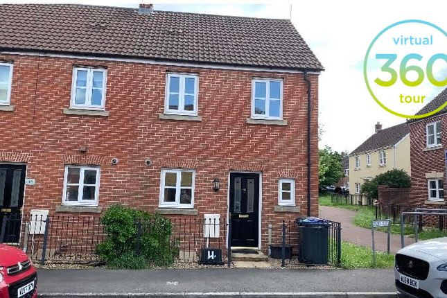 End terrace house to rent in Hornchurch Road, Bowerhill, Melksham, Wiltshire