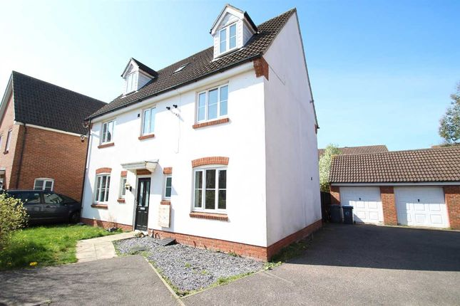 Thumbnail Detached house to rent in Walker Chase, Kesgrave, Ipswich
