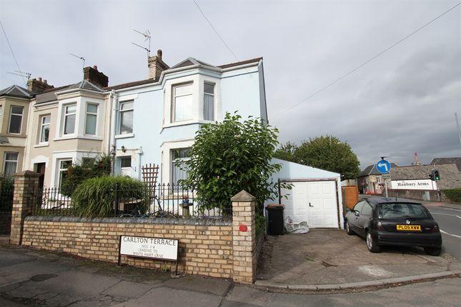 Thumbnail End terrace house for sale in Carlton Terrace, Caerleon, Newport