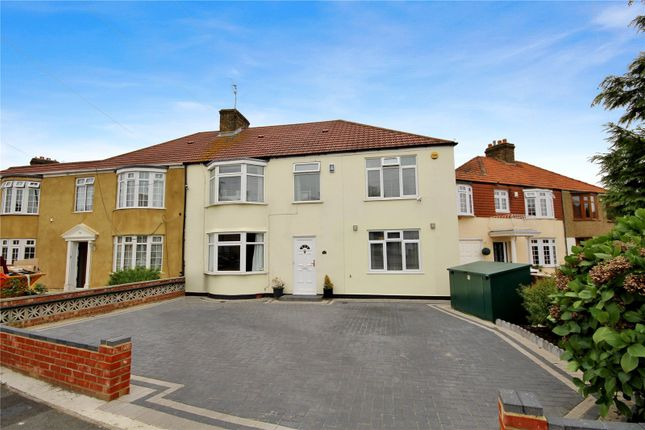 Thumbnail Semi-detached house for sale in Honiton Road, Welling, Kent