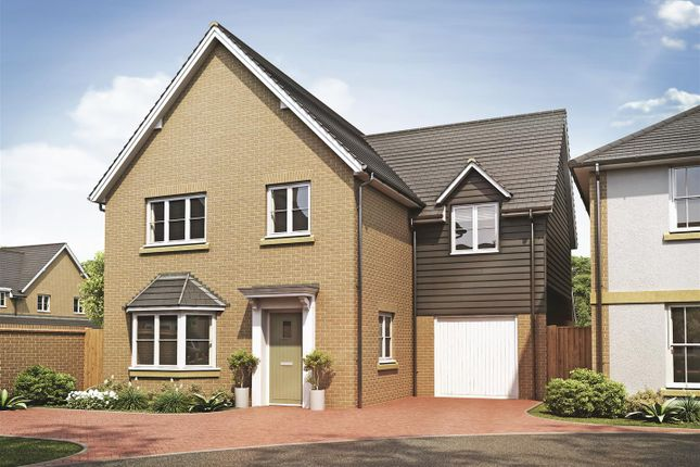 Thumbnail Detached house for sale in Harvester Close, Garden Walk, Royston