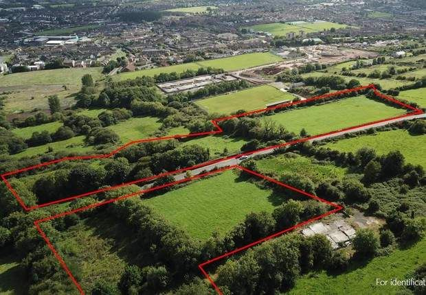 Thumbnail Land for sale in Lands At Upper Springfield Road, Belfast, County Antrim
