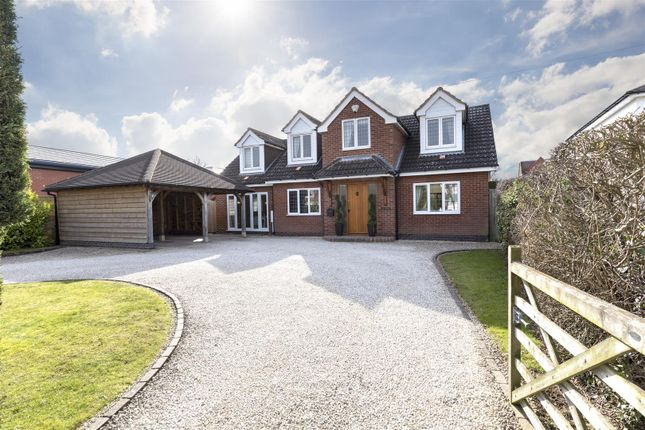 Thumbnail Detached house for sale in Kenilworth Road, Cubbington, Leamington Spa
