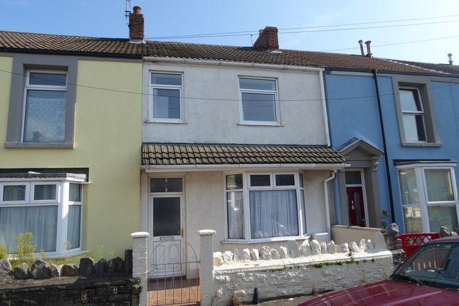 Thumbnail Terraced house to rent in Argyle Street, Sandfields, Swansea