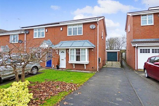 Thumbnail Town house to rent in Gallimore Close, Burslem, Stoke-On-Trent