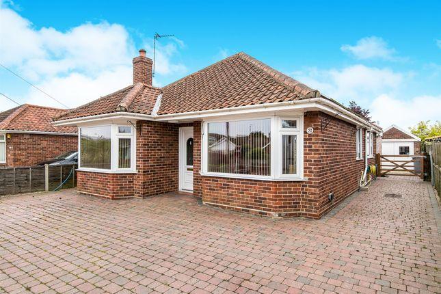 Thumbnail Detached bungalow for sale in Heath Crescent, Norwich, Hellesdon