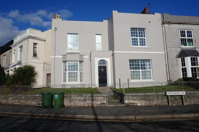Thumbnail End terrace house to rent in Greenbank Terrace, Greenbank, Plymouth