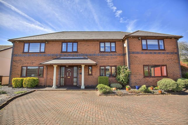 Thumbnail Detached house for sale in Maes Yr Haul Crossing, Cross Inn, Pontyclun