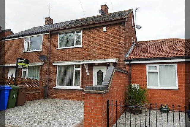 Thumbnail Terraced house to rent in Vaughan Road, Hessle