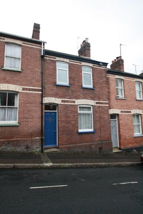 Thumbnail Terraced house to rent in Radford Road, St Leonards, Exeter