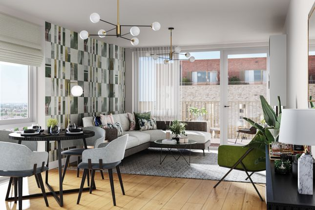 Thumbnail Flat for sale in Evergreen, Harringay